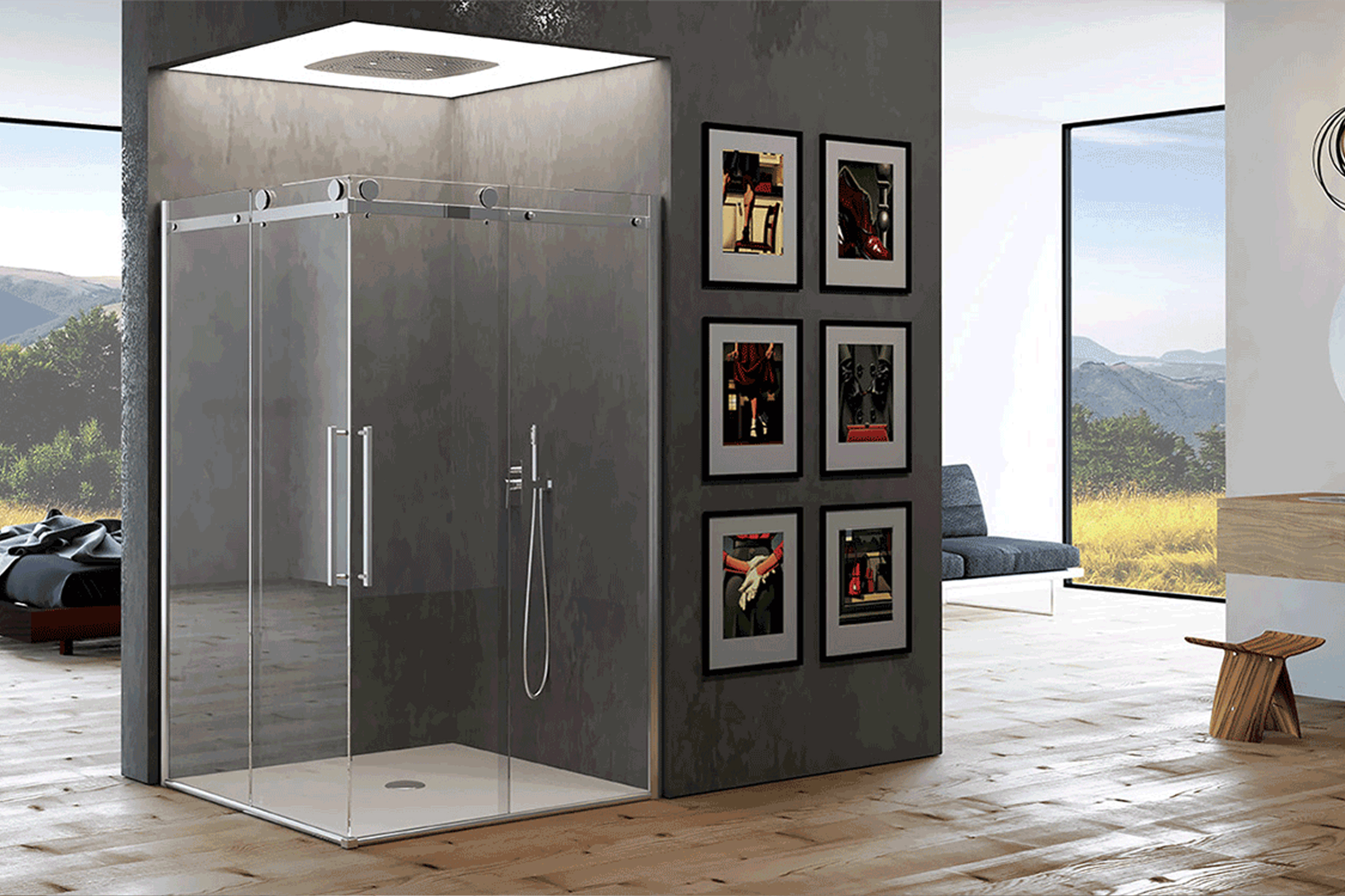 Monterosa ceramiche piastrelle sanitari rubinetterie e - Arredo bagno doccia ...