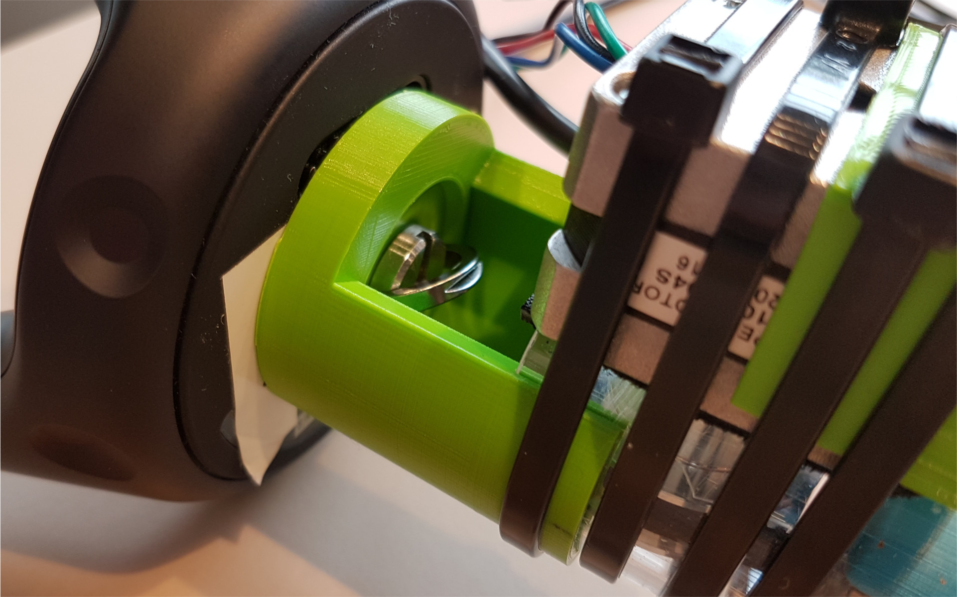 the grip mount for the Vive tracker