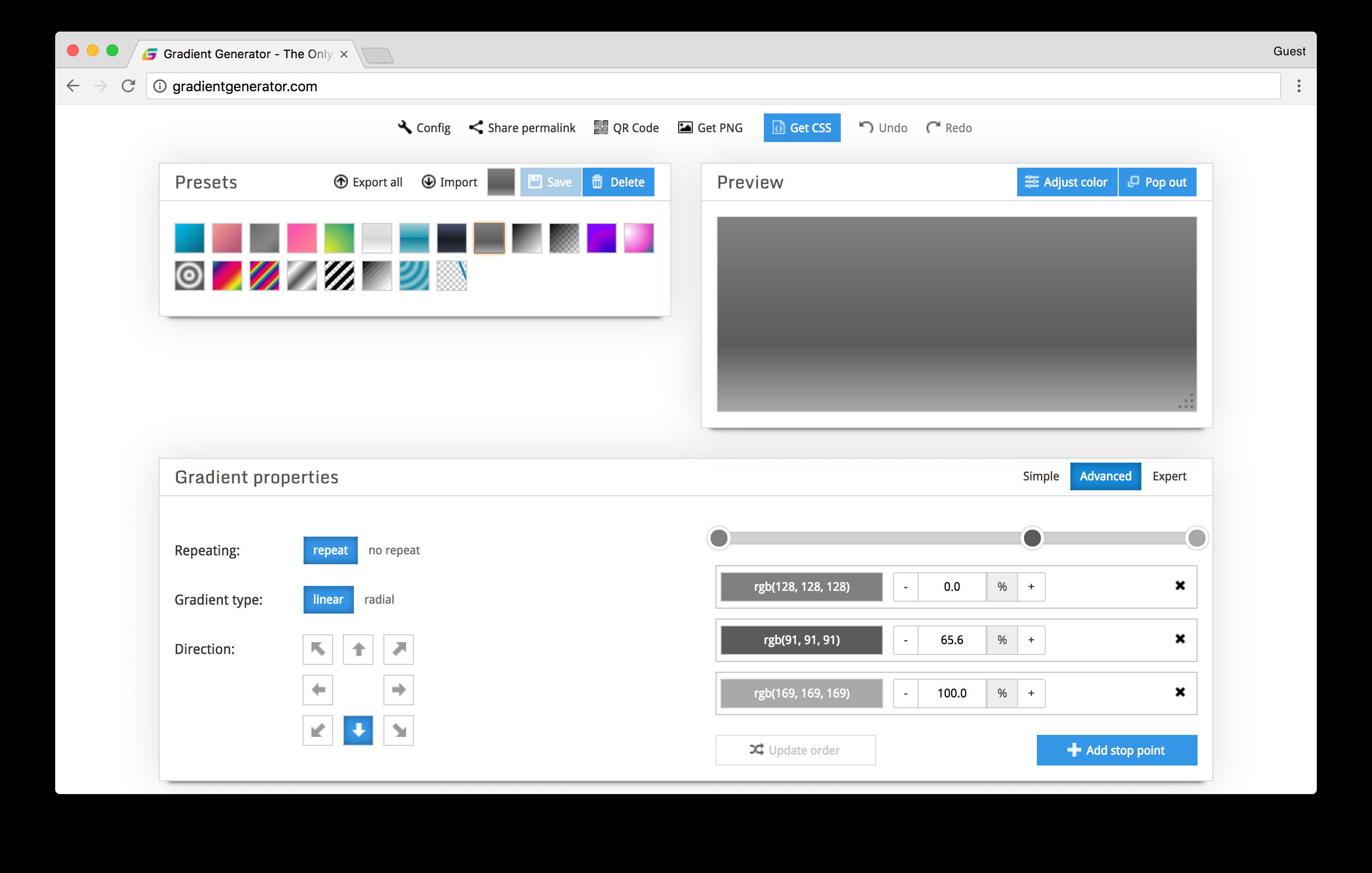 gradientgenerator.com