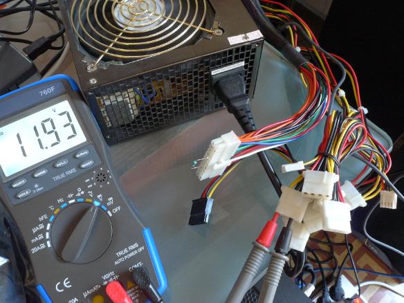 ATX PSU 12V test