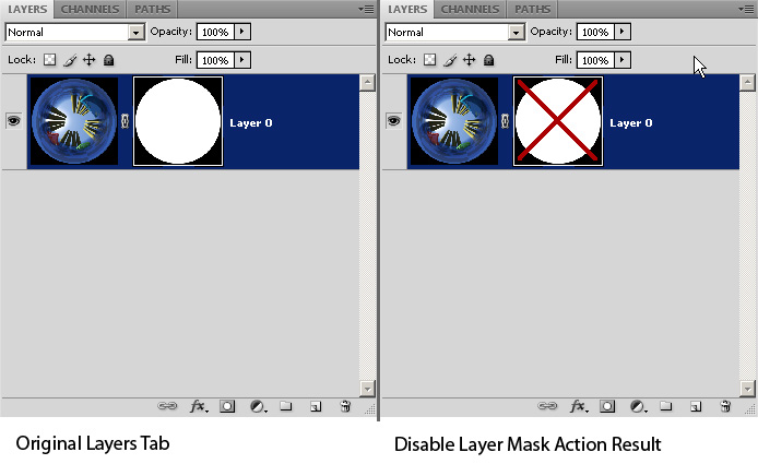 Disable Layer Mask Example