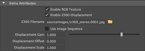 Z360 Attribute Editor