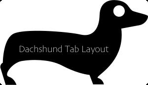 Dachshund-Tab-Layout
