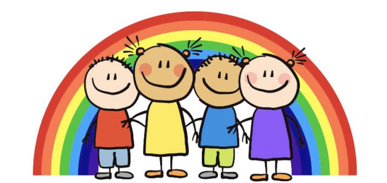Garderie Rainbow Daily Agenda Logo
