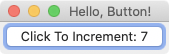 Glimmer DSL for SWT Hello Button