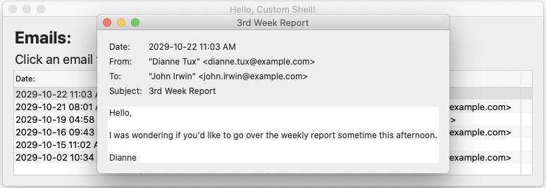 Glimmer DSL for SWT Hello Custom Shell Email1