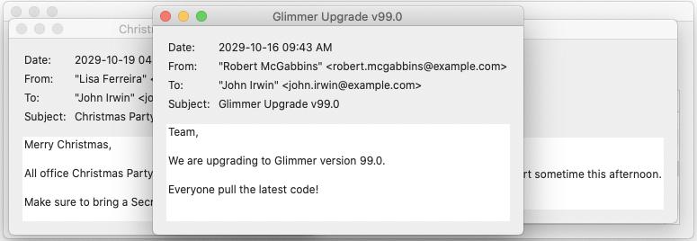 Glimmer DSL for SWT Hello Custom Shell Email3