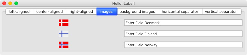 Hello Label Images