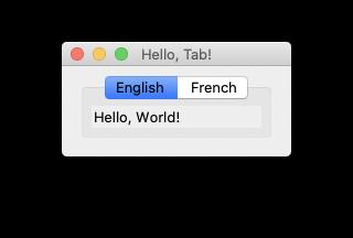 glimmer dsl tk screenshot sample hello notebook English
