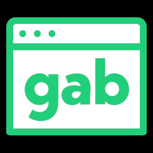 Glimmer Gab Logo