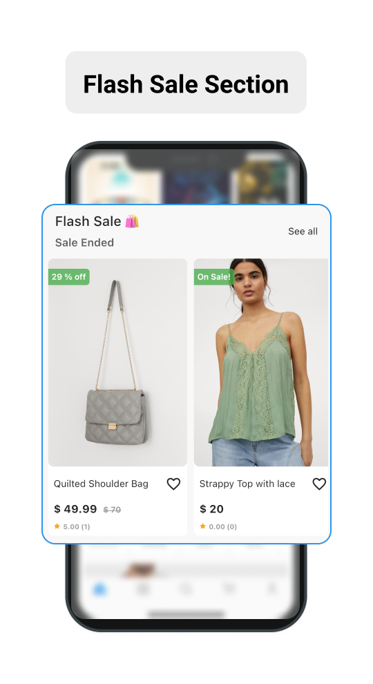 Flash Sale Section