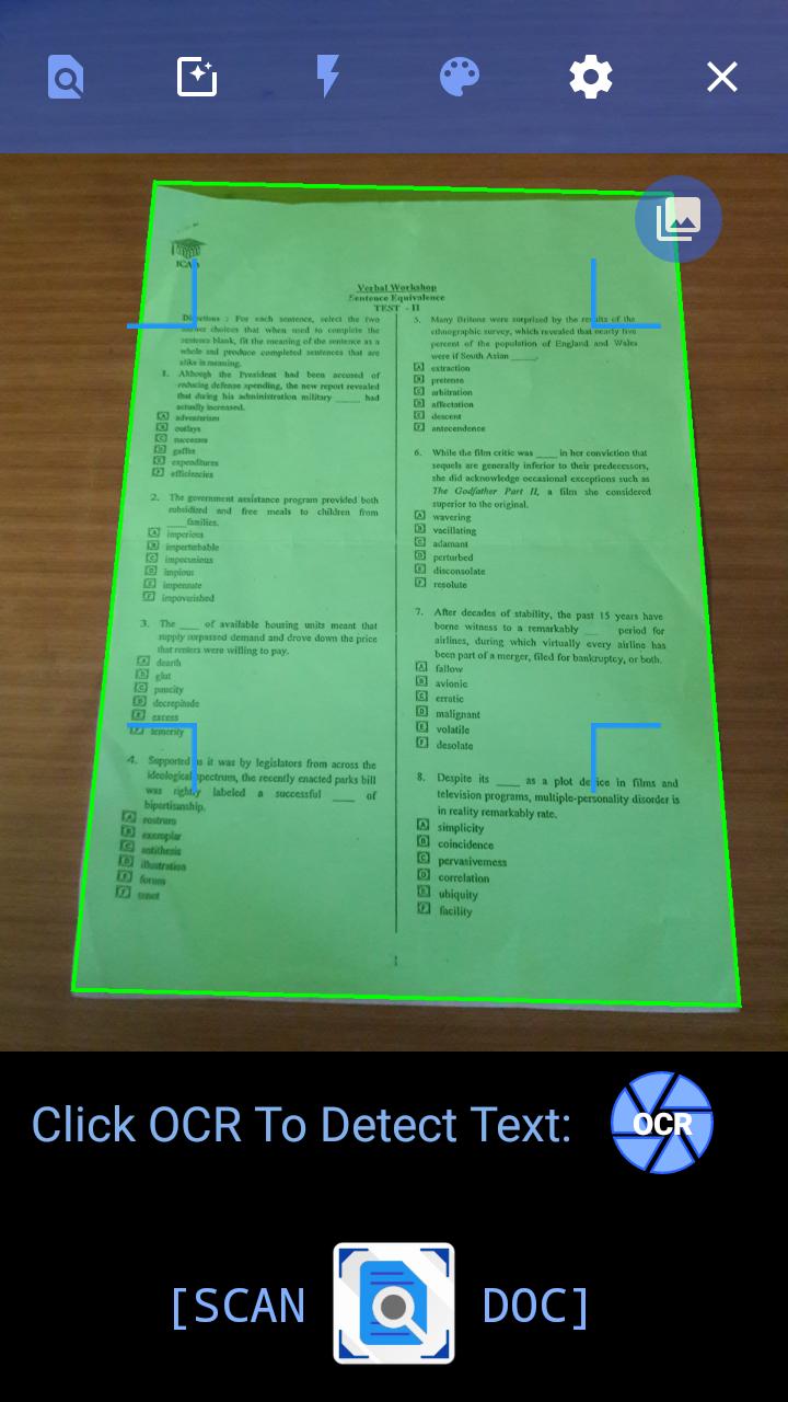 GitHub - Aniruddha-Tapas/Document-Scanner: Source code for the