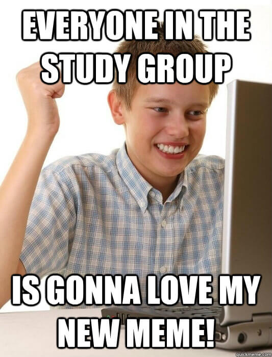 Group study meme