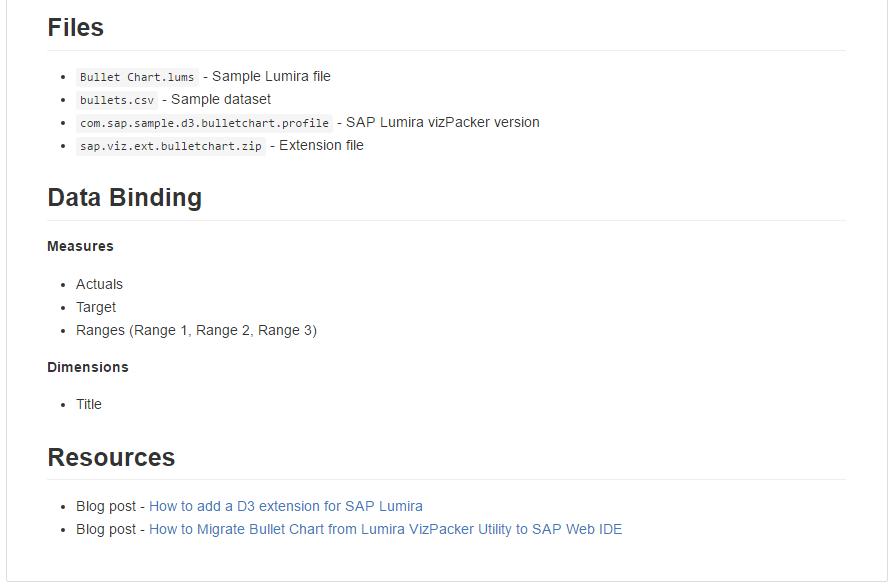 Lumira extensions GitHub sample2