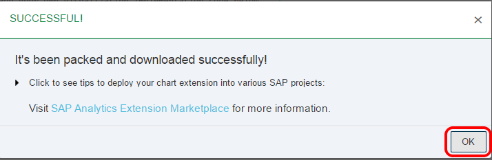SAP Web IDE Lumira extension download