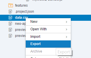 SAP Web IDE Lumira extension install