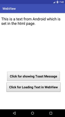 The Android Arsenal - Web Views - WebViewDemo