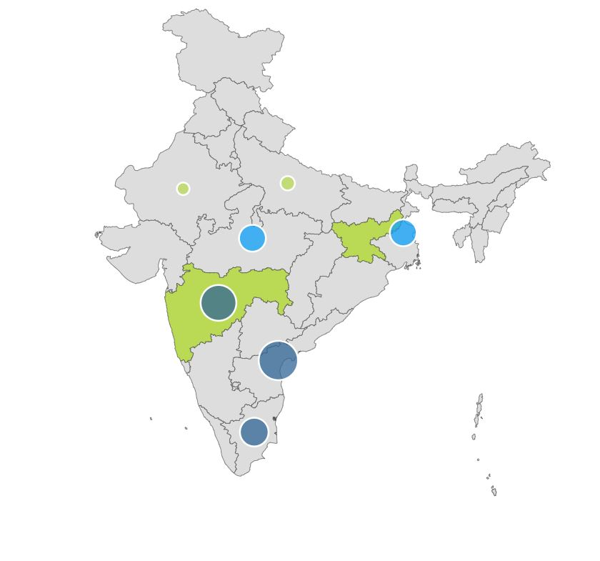 india bubble map