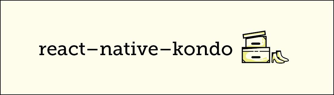 react-native-kondo logo