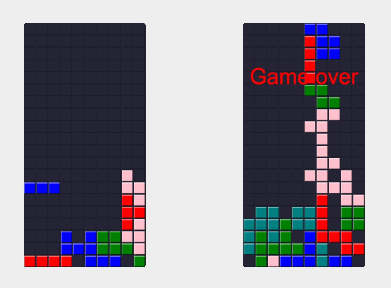 Multiplayer Tetris screenshot