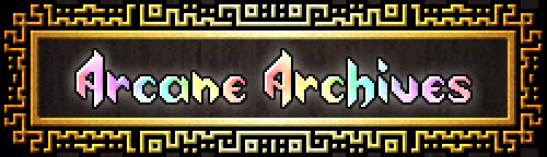 Arcane Archives title image
