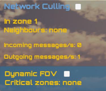 Network Culling