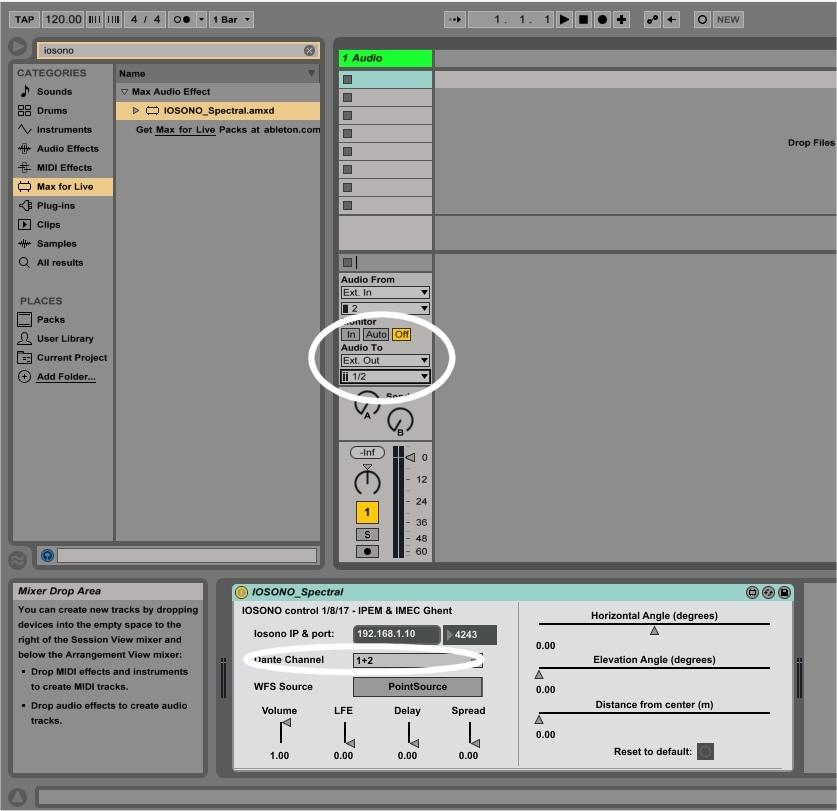 GitHub - ArtScienceLab/Iosono4Live: Ableton Live plugin