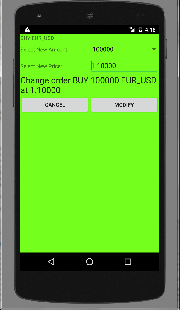 Sample App screenshot preview