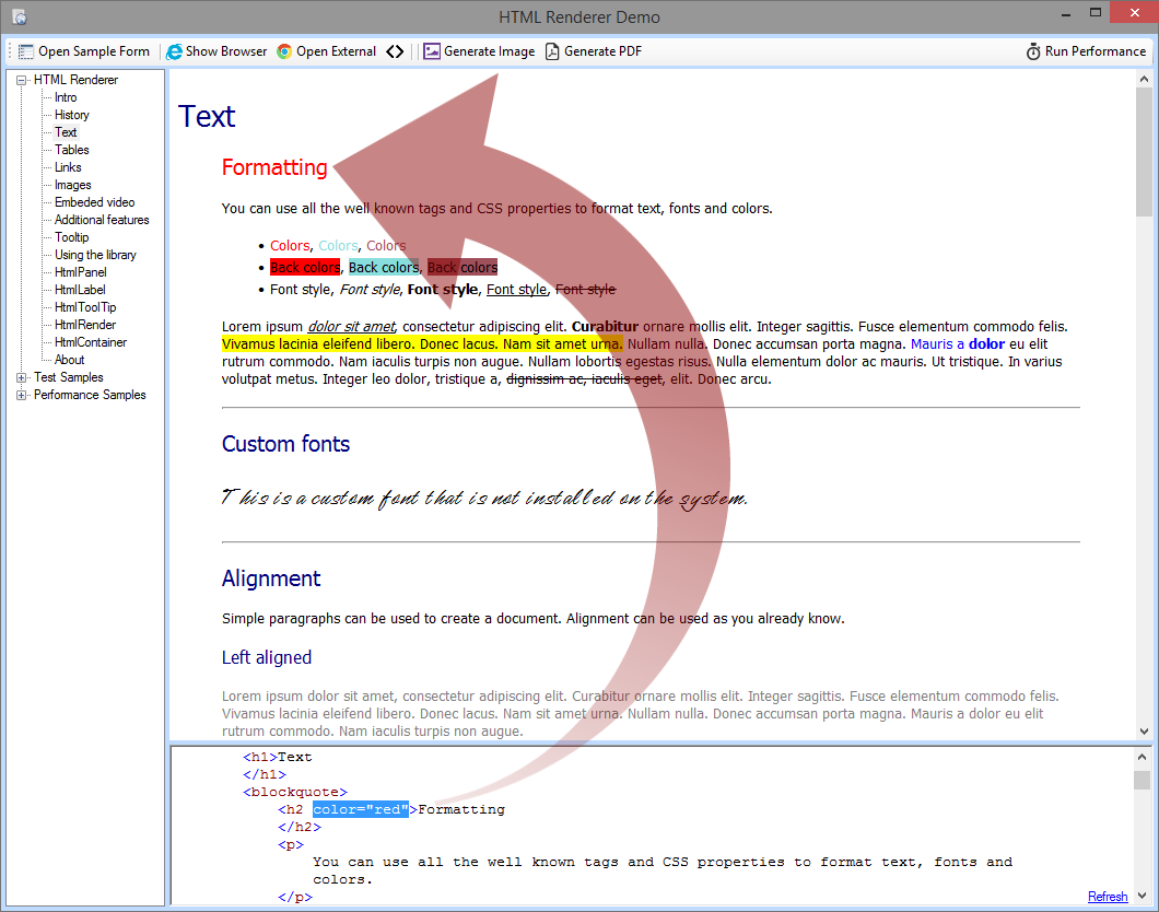 HtmlRenderer Wiki & Documentation Rss Feed