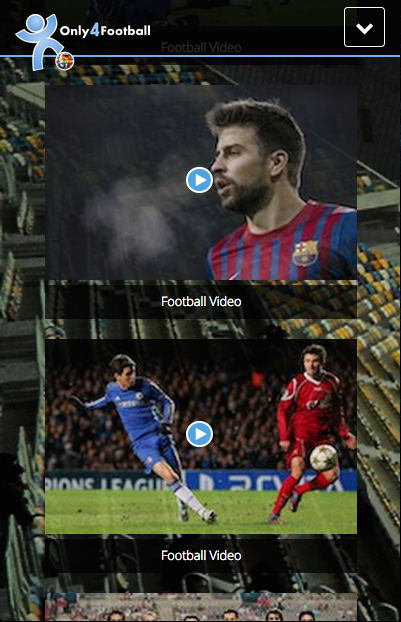 Bootstrap Football Theme Screenshot 6