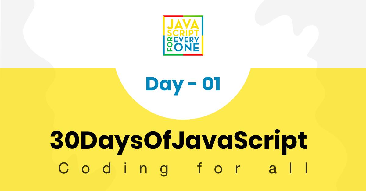 Thirty Days Of JavaScript