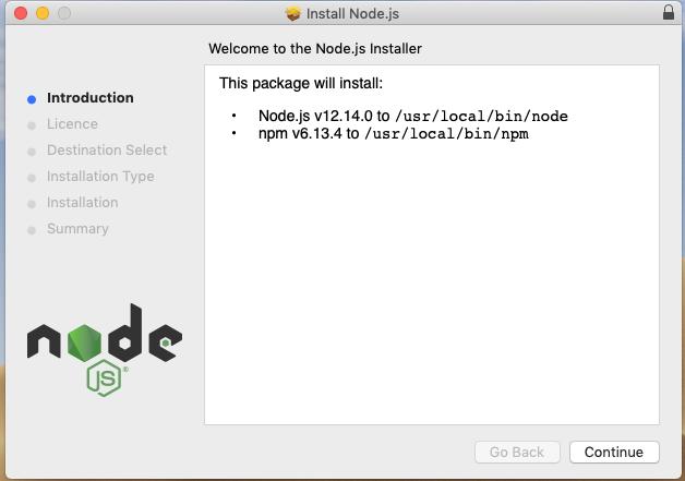 Install node