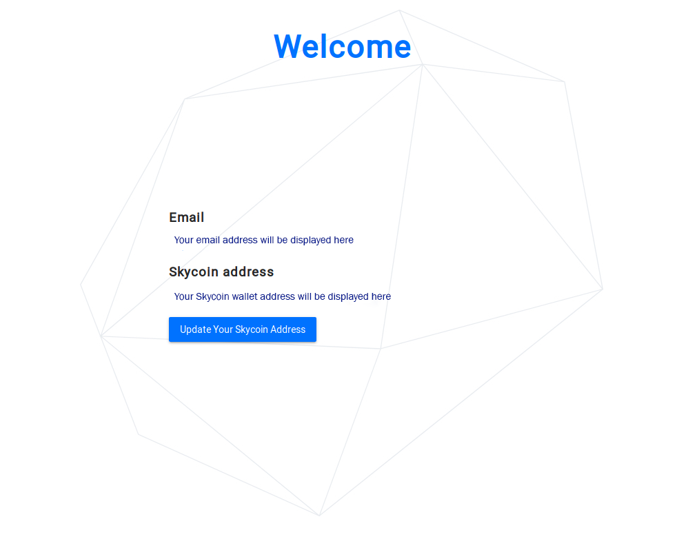 Updating the Skycoin wallet reward address.