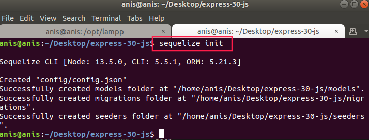 https://raw.githubusercontent.com/AsrulLove/img-db/master/sequelize-init.png