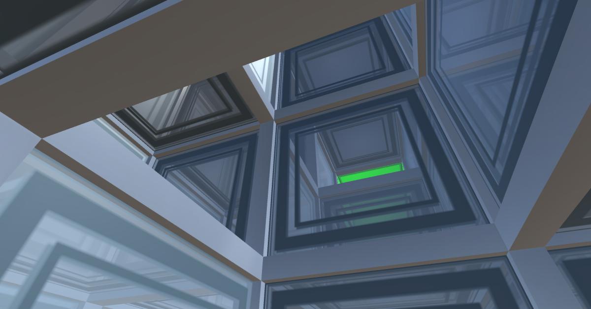 3D maze screenshot
