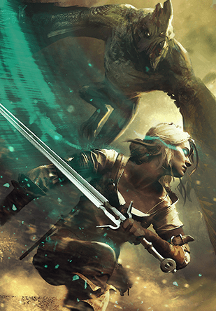 Where can i find this art in high resolution witcher - Ciri gwent card witcher 3 ...