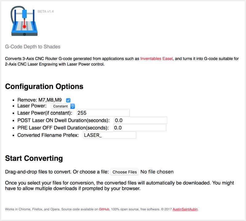 GitHub - AustinSaintAubin/gcode-depths-to-shades: Converts 3 Axis
