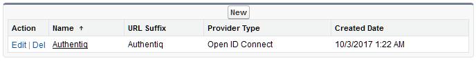 Providers list