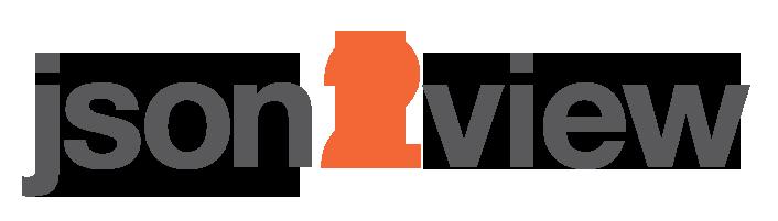 json2view logo
