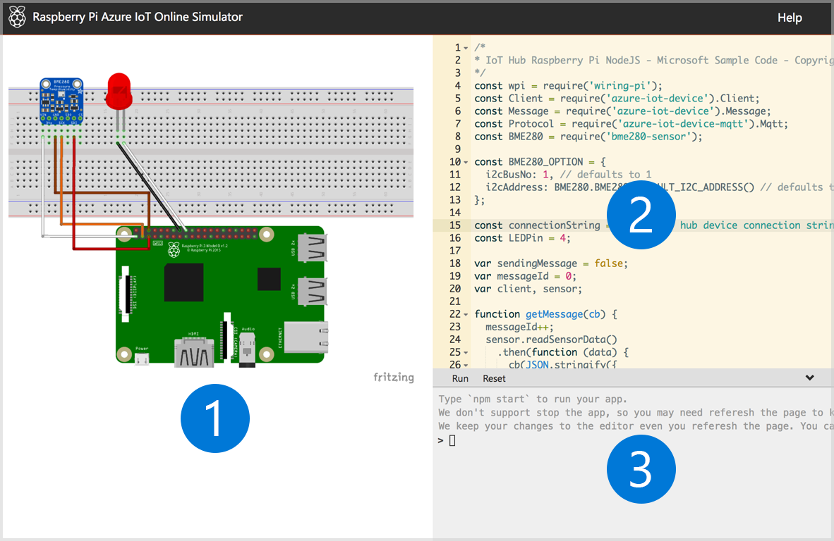 Circuit Diagram In Step1 Appears To Be Incorrect Issue 33 Azure Sample Pi Simulator
