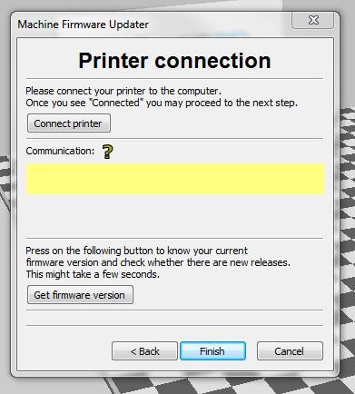 Printer connection