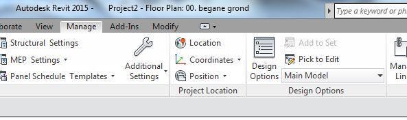 manage coordinates