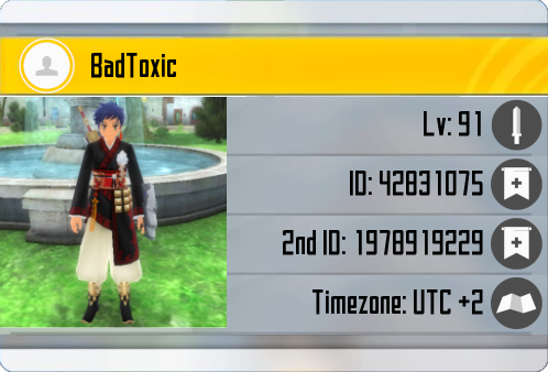 Profile Card BadToxic