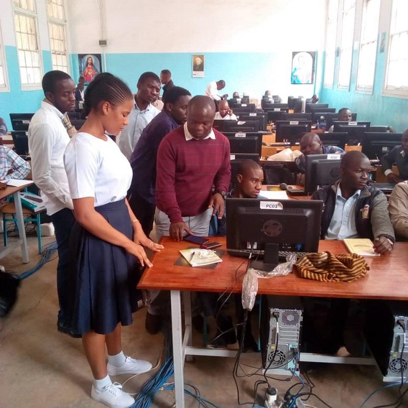 Lubumbashi formazione dei formatori su Banana Contaiblità