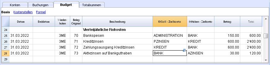 International | Banana Accounting Software