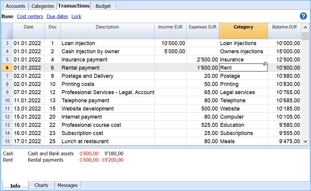 cash flow transactions