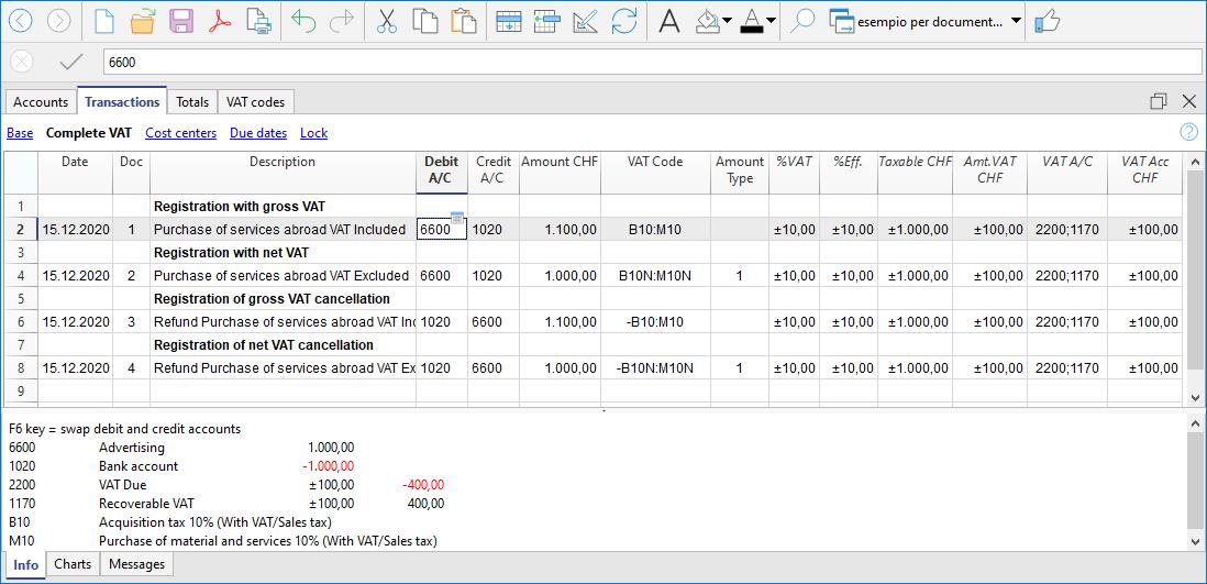 Voorbeeld BTW verlegging boeking