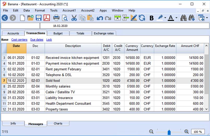 Multi-currency Accounting | Banana Accounting Software