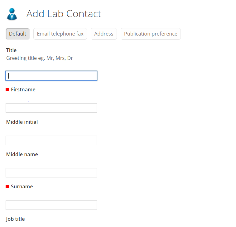 save lab contact
