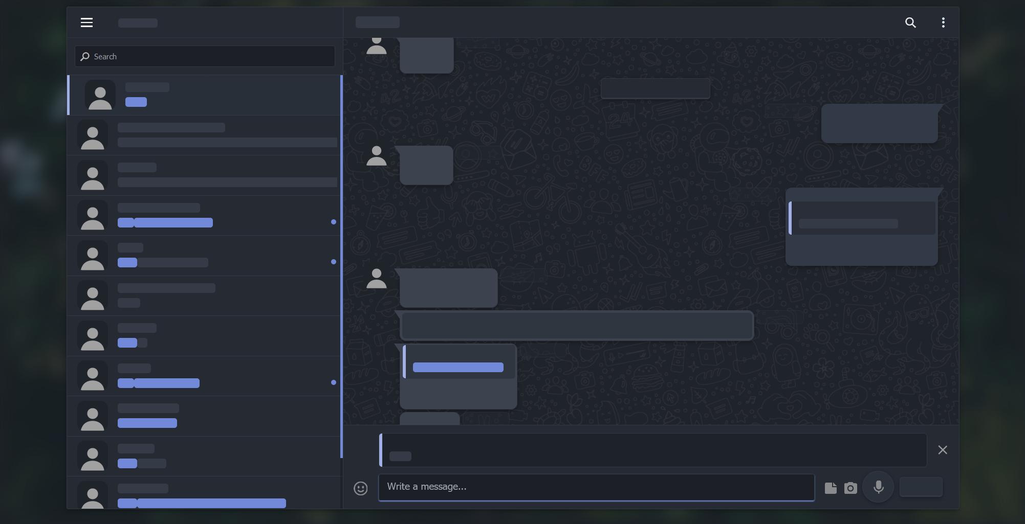 Dark-Telegram screenshot